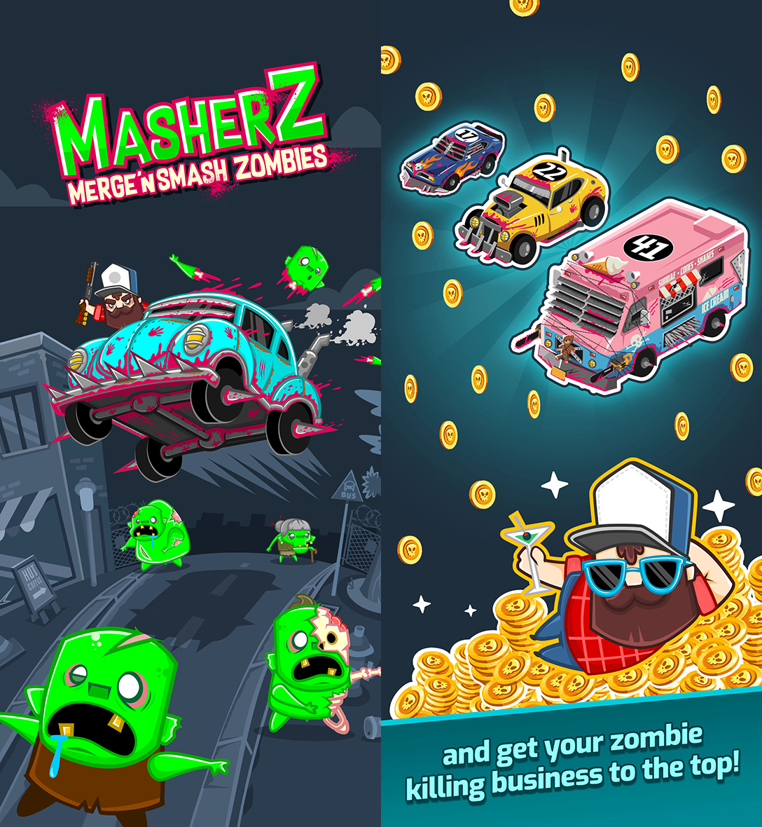 MasherZ: Merge'n Smash Zombies